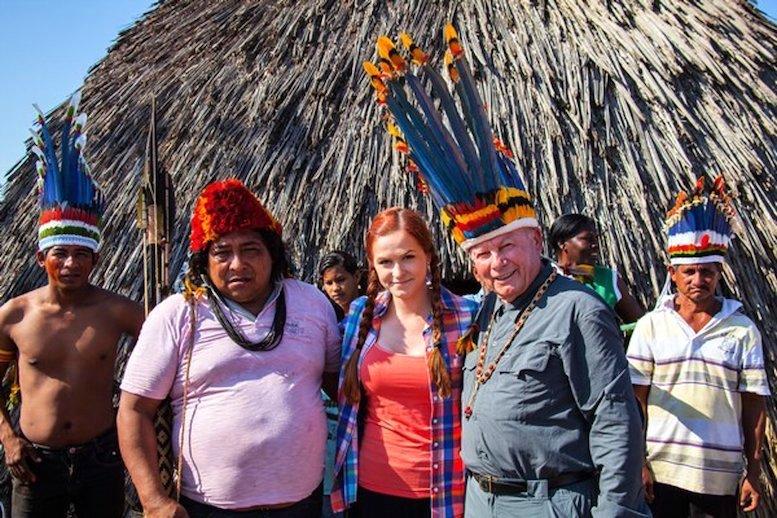 Obr.: Exprezident Rudolf Schuster na dobrodružnej ceste v Brazílii, rok 2014